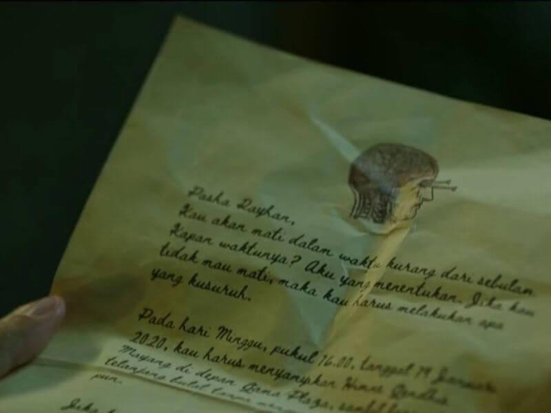 surat dari kematian